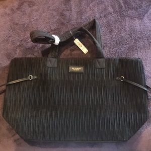 Victoria Secret Black Tote New with Tags